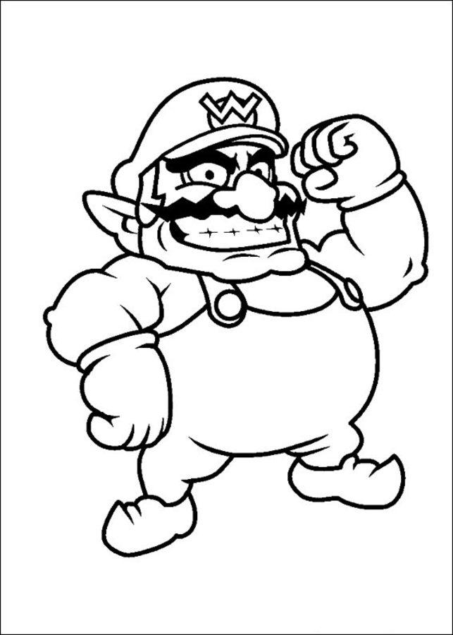 Ausmalbilder Ausmalbilder Super Mario Bros Zum Ausdrucken