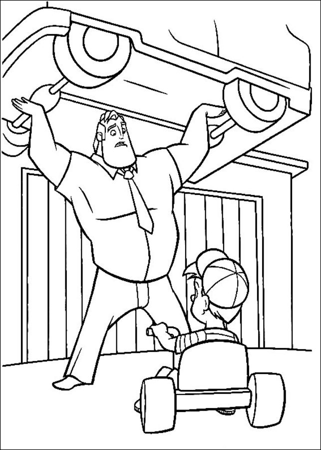 Super News: I'm going to Los Angeles! | Cartoon coloring pages ... | 900x643