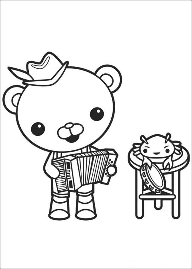 Coloriages les octonauts imprimable gratuit pour les enfants et les adultes - Octonauts dessin anime ...