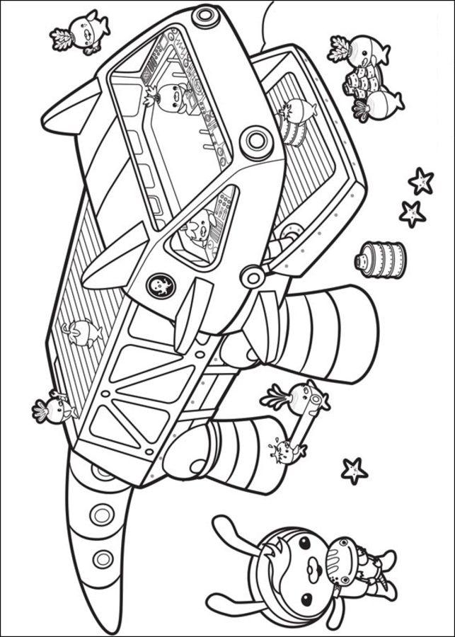 octonauts coloring page - kolorowanki oktonauci do druku dla dzieci i doros ych