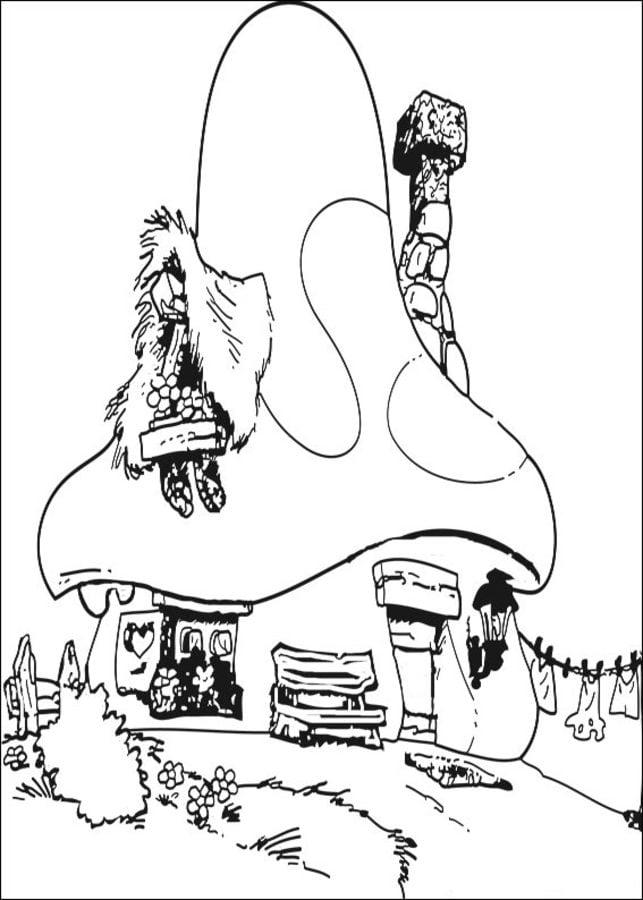 Ausmalbilder Ausmalbilder Die Schlumpfe Zum Ausdrucken Kostenlos Fur Kinder Und Erwachsene