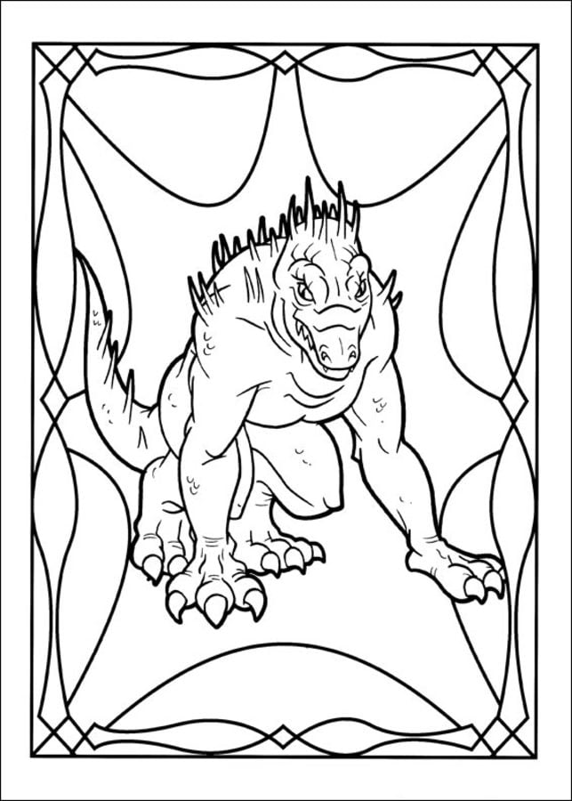the spiderwick chronicles cartoons coloring pages