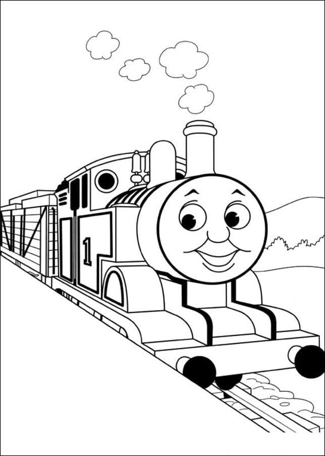 ausmalbilder ausmalbilder thomas die kleine lokomotive