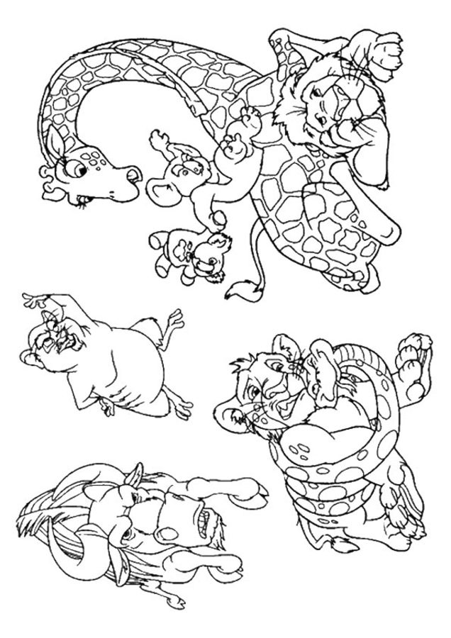 Wild Kratts Coloring Pages. Printable Sheets For Free (40) | 900x636