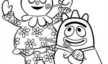 Coloring pages: Yo Gabba Gabba!