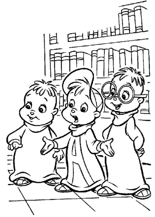 Disegni da colorare disegni da colorare alvin superstar for Alvin da colorare