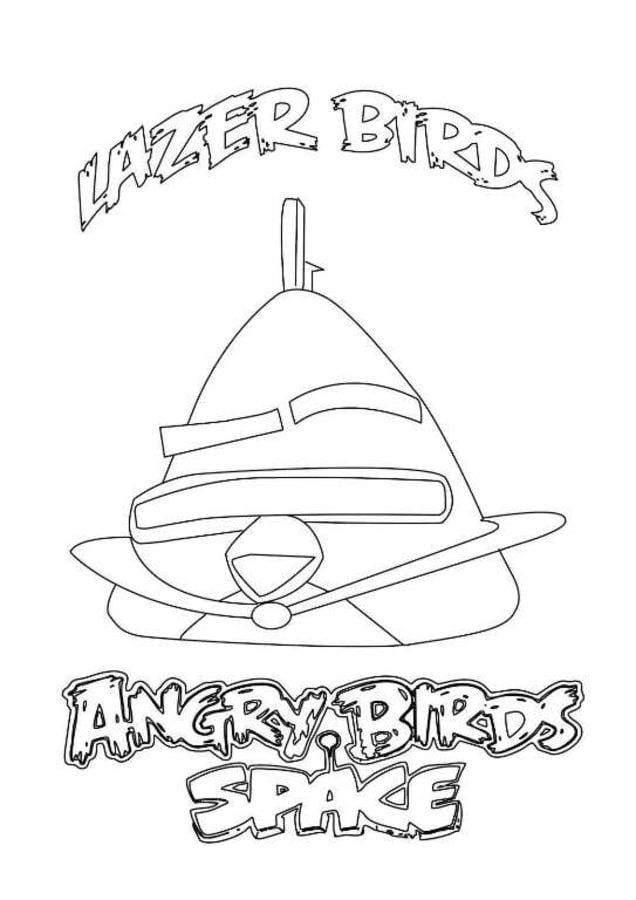 Coloring pages: Angry Birds Space, printable for kids & adults, free