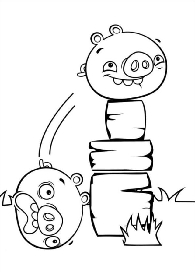 Coloring pages: Coloring pages: Angry Birds Stella ...