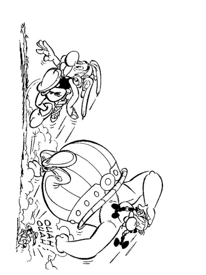 Coloriages ast rix et ob lix imprimable gratuit pour - Asterix gratuit ...