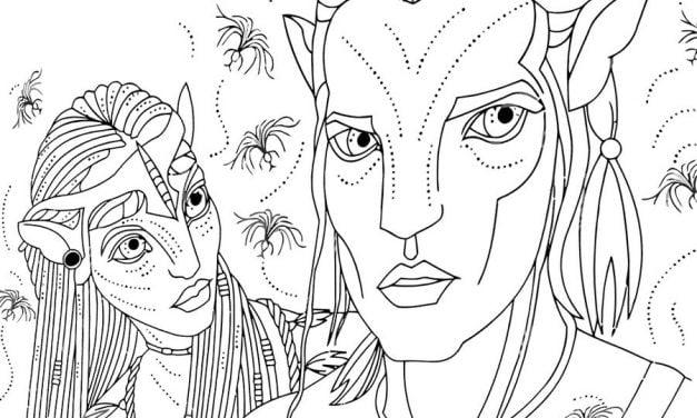 Ausmalbilder: Avatar