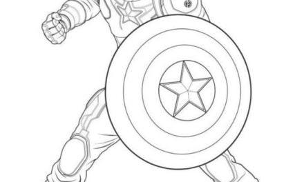 Kolorowanki: Avengers