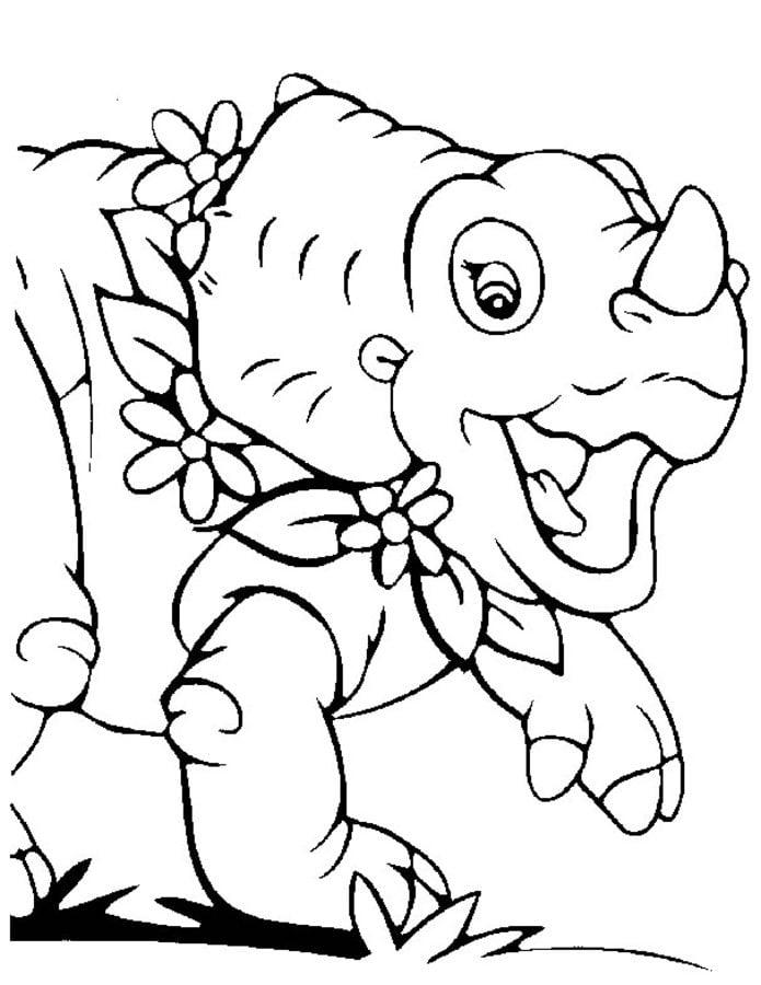 ausmalbilder: dino babies zum ausdrucken, kostenlos, für