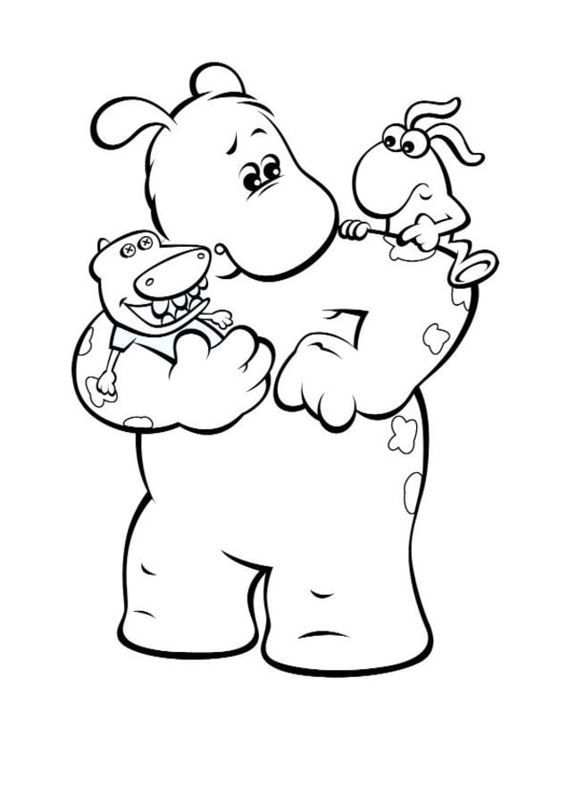 big small coloring pages - Big And Small Coloring Pages
