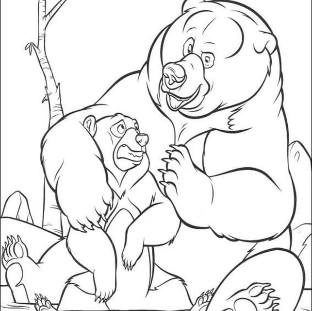 Ausmalbilder Ausmalbilder Bärenbrüder Zum Ausdrucken Kostenlos