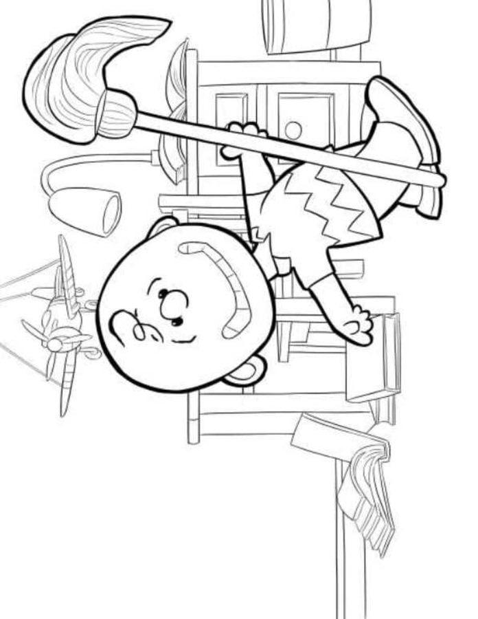 Contemporáneo Colorear Charlie Brown Ideas - Dibujos Para Colorear ...