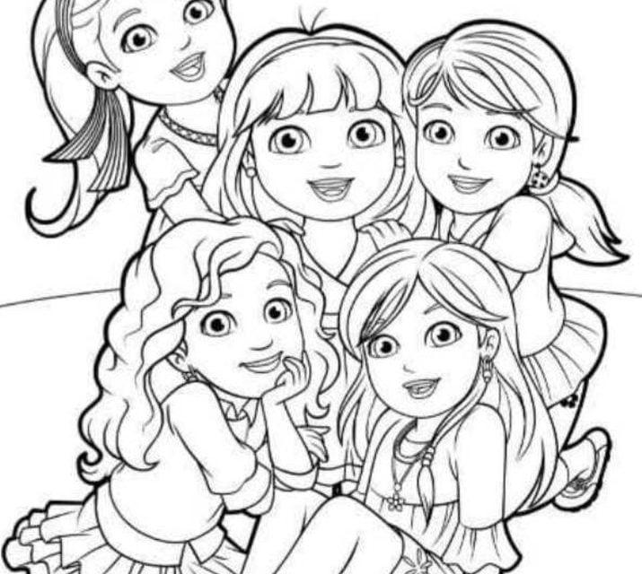 Kolorowanki Kolorowanki Dora I Przyjaciele Do Druku Dla Dzieci I