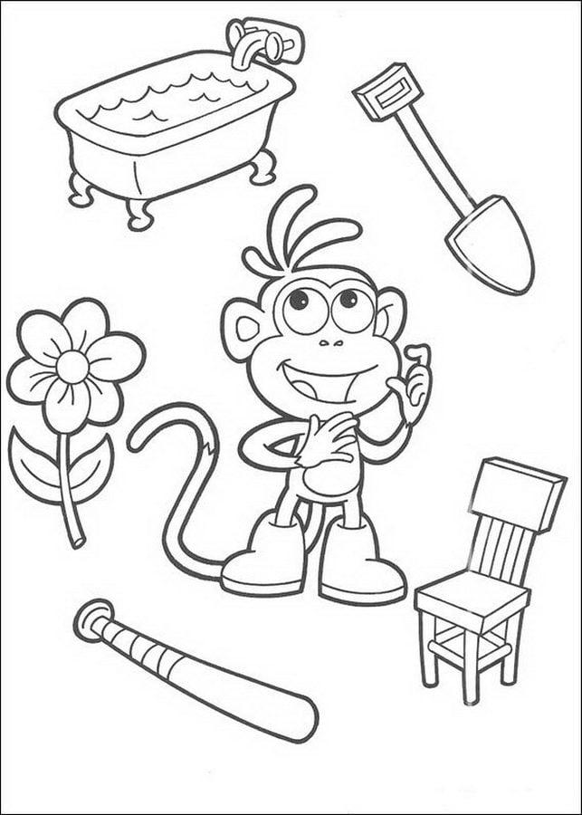 Kleurplaten Dora.Online Kleurplaten Dora Kolorowanki Dora Poznaje Wiat Do Druku Dla