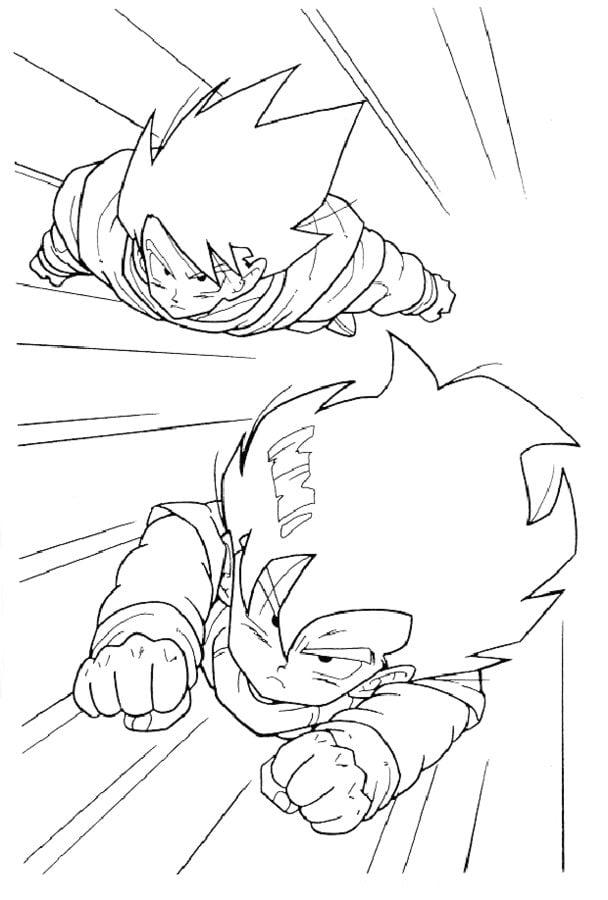 Disegni Da Colorare Dragon Ball Z Stampabile Gratuito