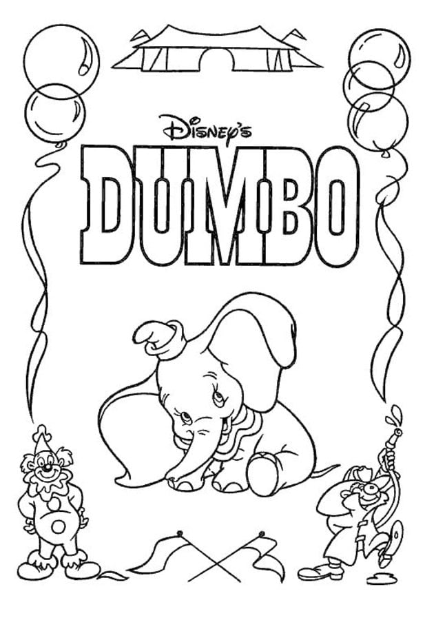 Großartig Dumbo Malvorlage Fotos - Druckbare Malvorlagen - amaichi.info