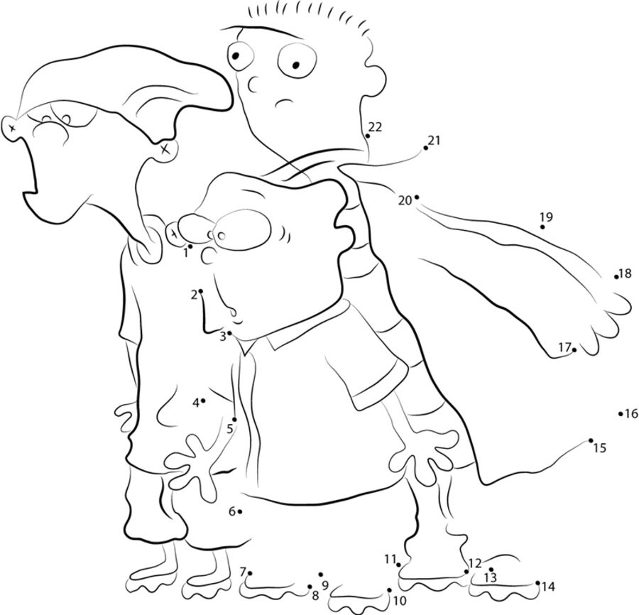 Ed, Edd n Eddy color page - Coloring pages for kids - Cartoon ... | 866x900