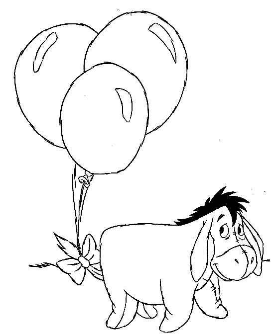 Eeyore Winnie The Pooh Coloring Pages Eeyore Coloring Pages Winnie ... | 676x554