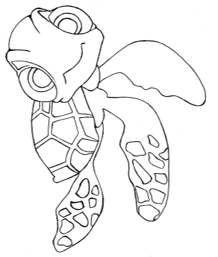 Finding Nemo Coloring 02 Coloring Page - Free Finding Nemo Coloring Pages :  ColoringPages101.com | 900x763