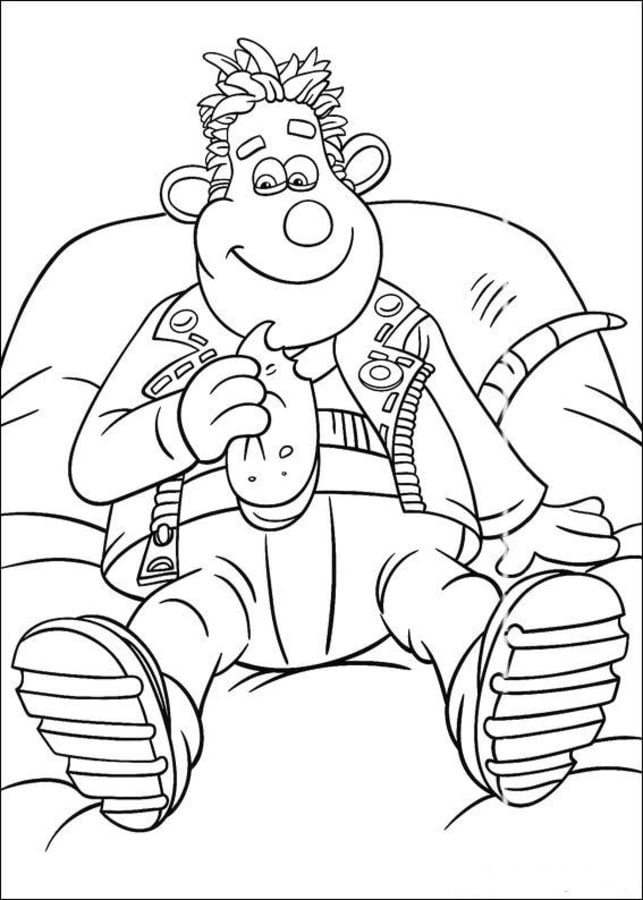 Coloring pages Coloring pages Flushed Away printable