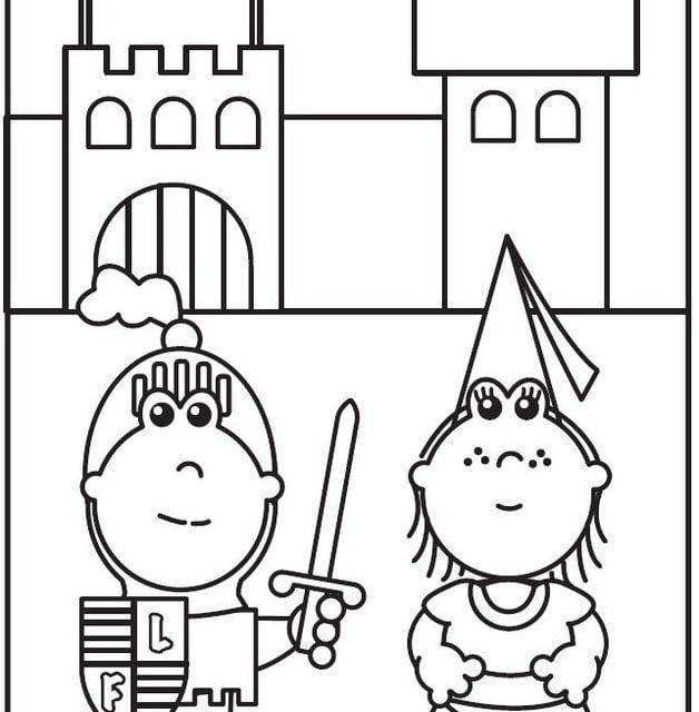 Dibujos para colorear: Frokkie & Lola imprimible, gratis, para los ...