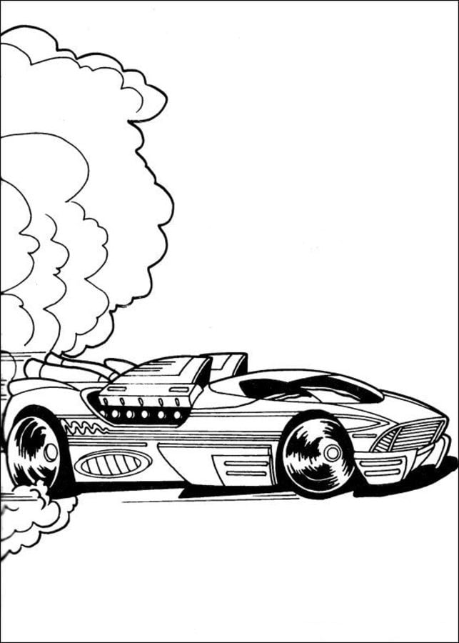 disegni da colorare  disegni da colorare  hot wheels