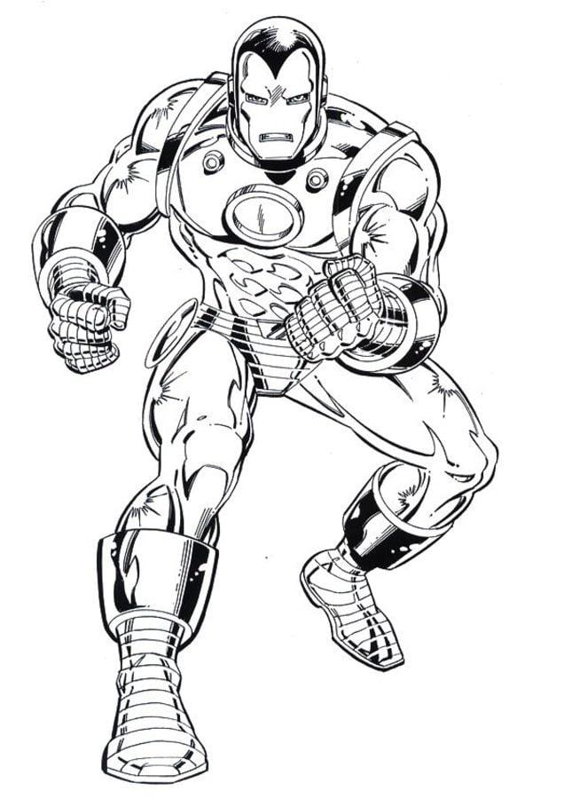 Ausmalbilder Ausmalbilder Iron Man zum ausdrucken