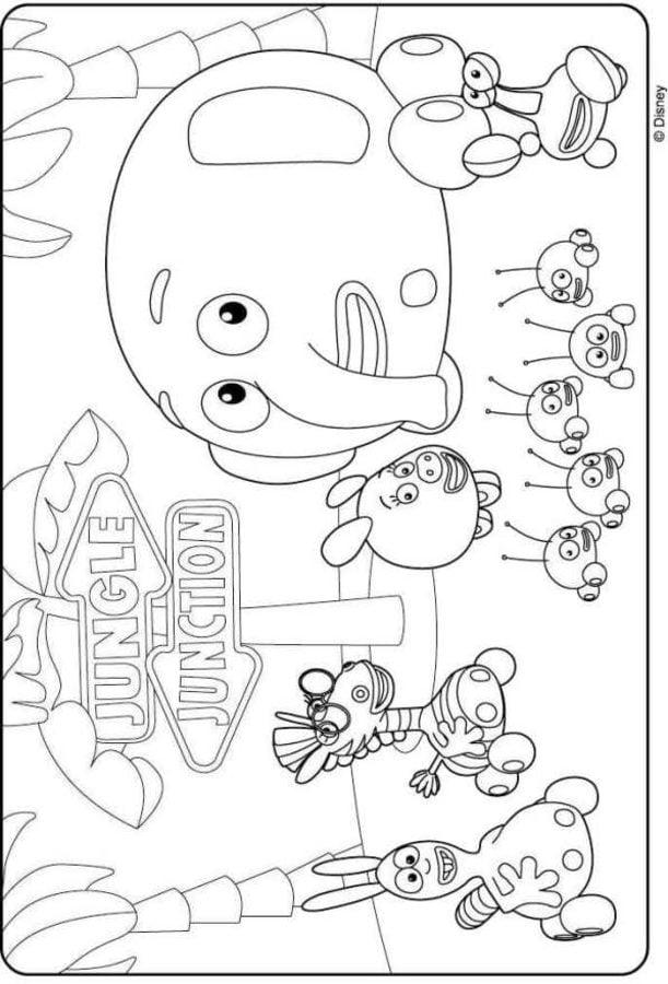 Ausmalbilder: Dschungel, Dschungel! zum ausdrucken, kostenlos, für ...