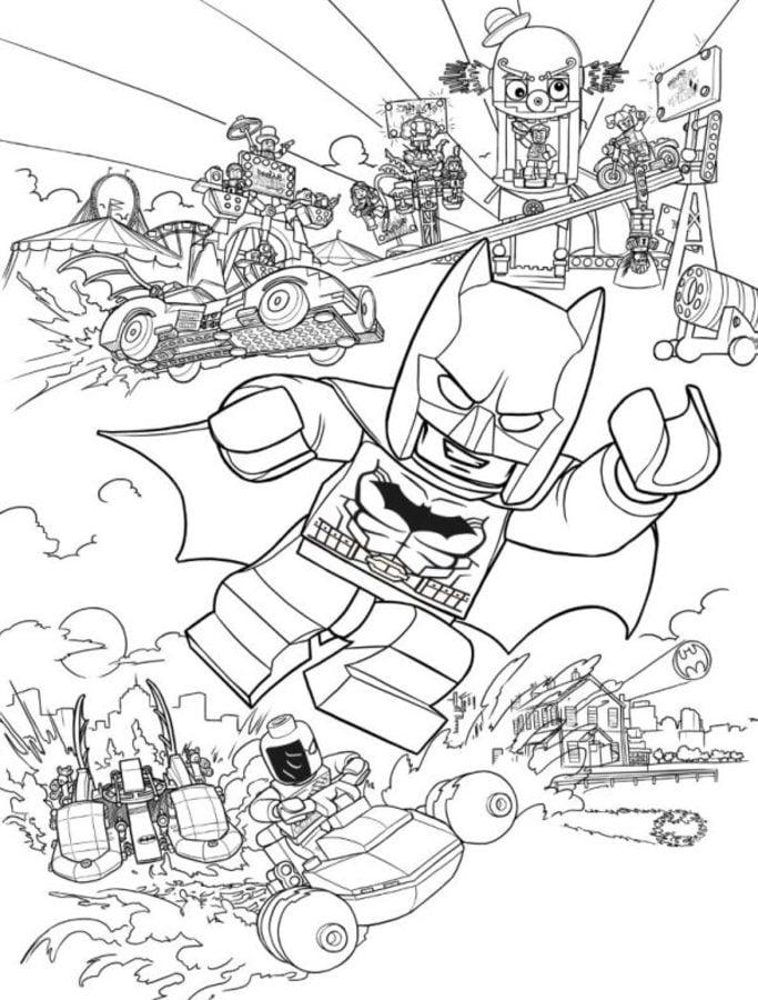 Dibujos para colorear: Lego Batman imprimible, gratis, para los ...