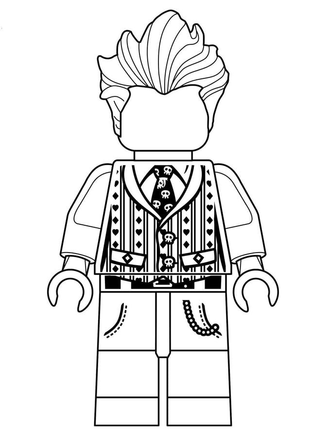 The Lego Batman Movie Coloring Pages - GetColoringPages.com | 900x675