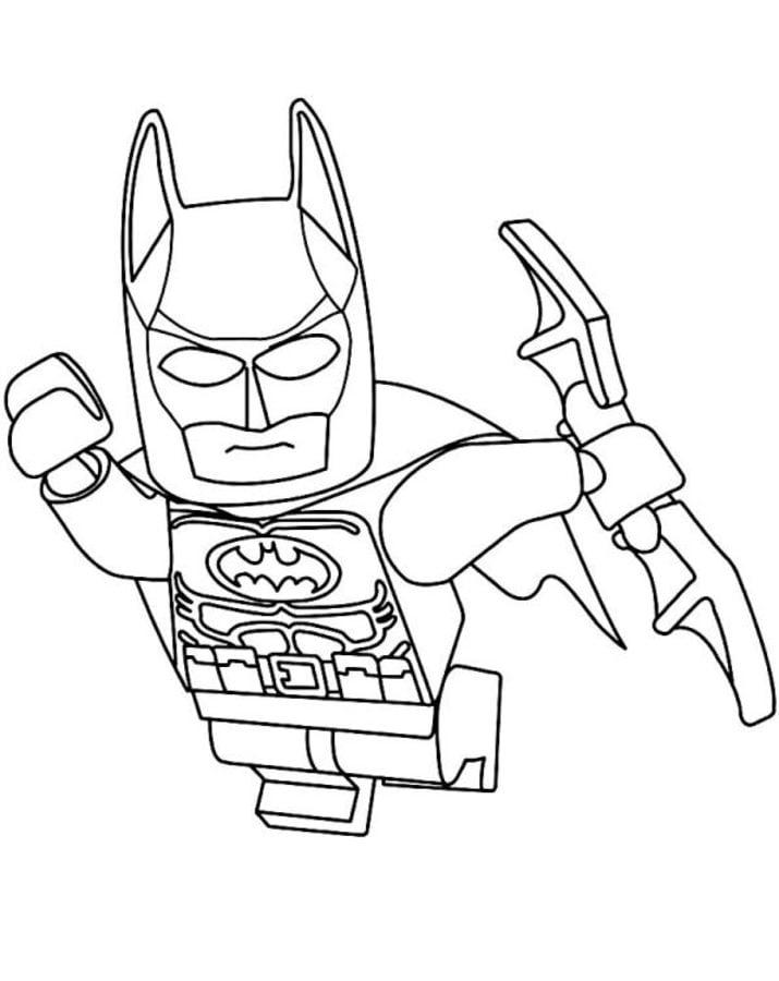 Ausmalbilder Ausmalbilder Lego Batman Zum Ausdrucken Kostenlos