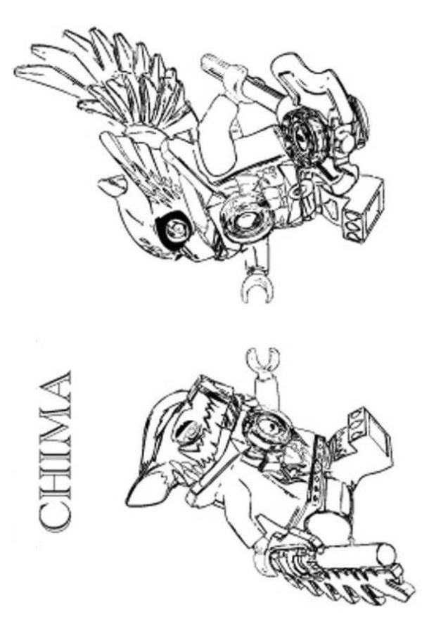 Coloring pages Coloring pages Lego Chima printable for
