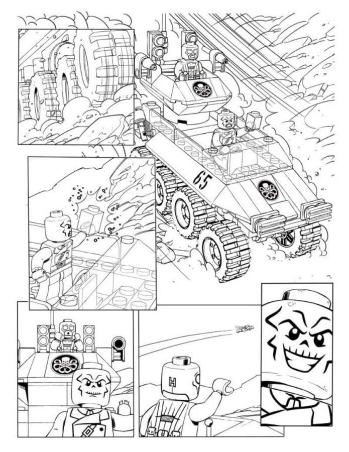 Disegni da colorare lego avengers stampabile gratuito for Colorare avengers