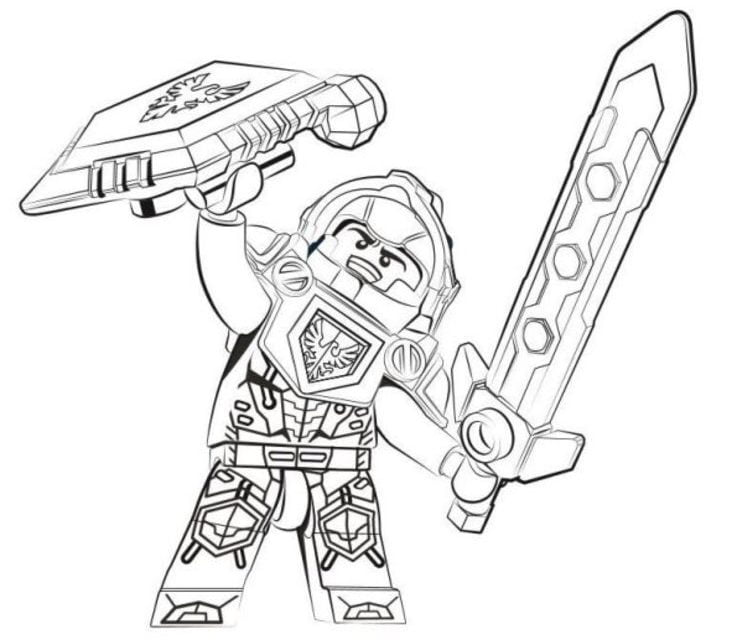 coloring pages : Nexo Knights Lego Coloring Pages New 1649 Best ...   640x737