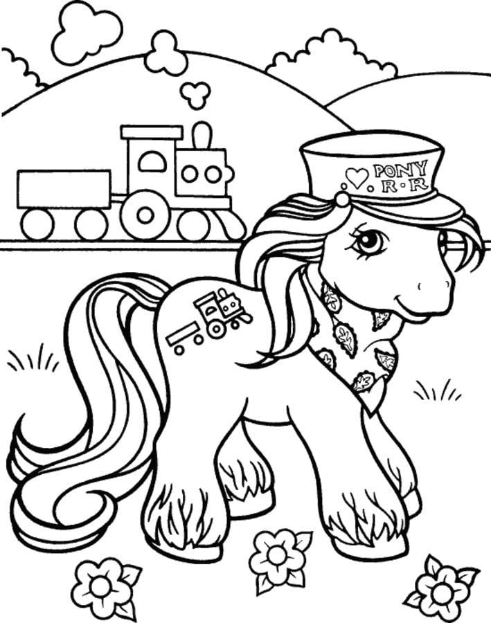 Erfreut Mein Kleines Pony Malvorlagen Kostenlos Zeitgenössisch ...