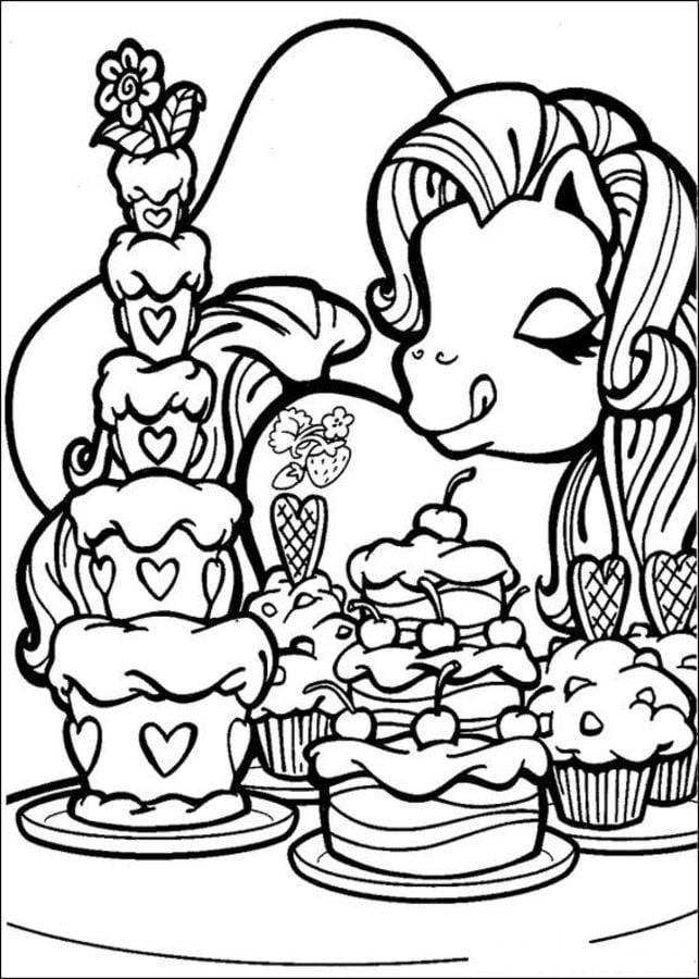 Fantastisch Mein Kleines Pony Malvorlagen Prinzessin Trittfrequenz ...