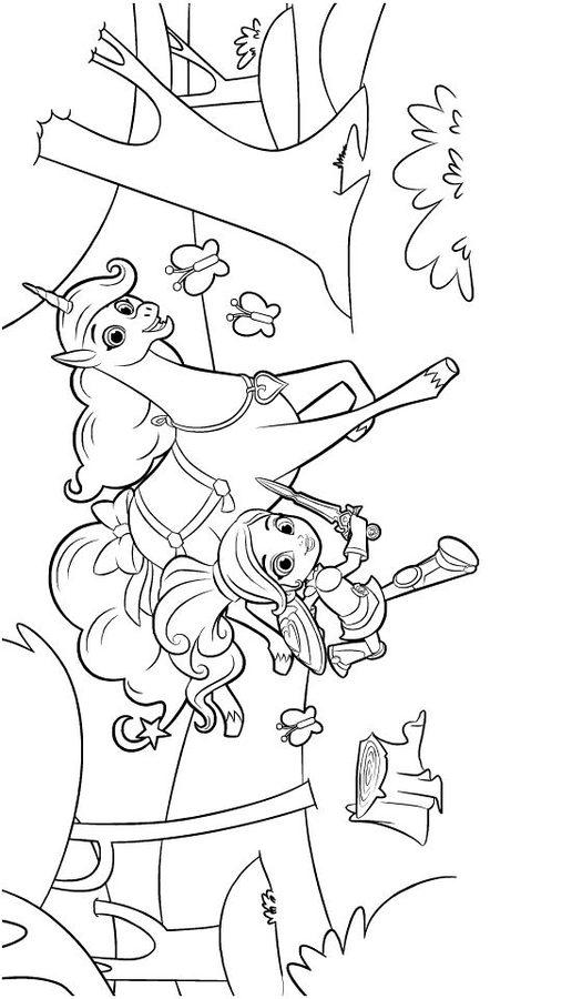 Dibujos Para Colorear Nella The Princess Knight