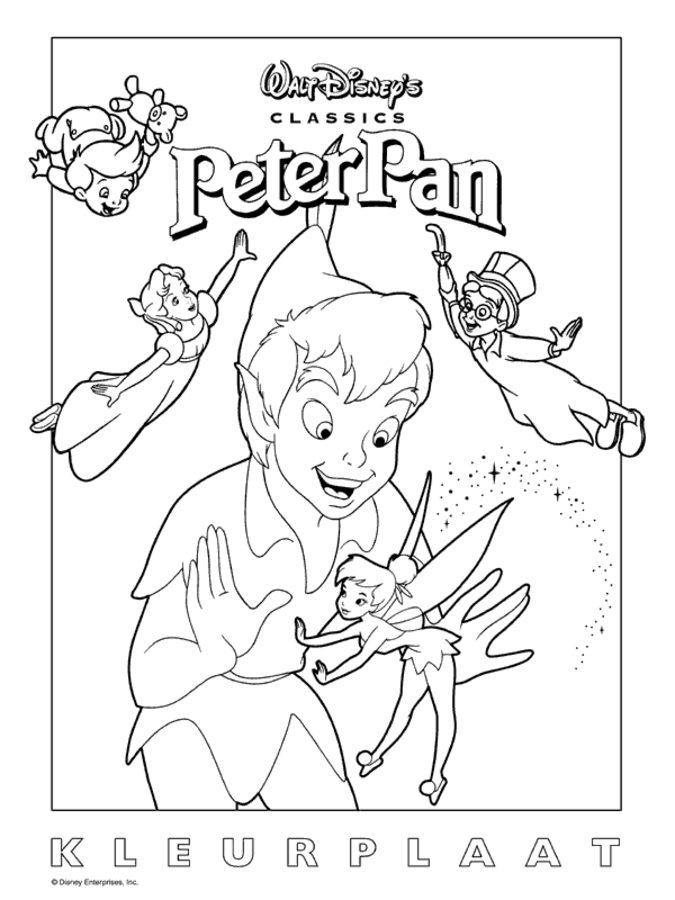 Disegni Da Colorare Disegni Da Colorare Peter Pan Stampabile