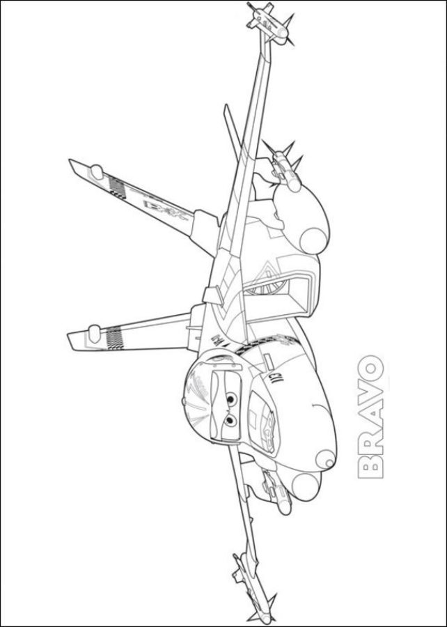 Planes 2 - Blade Ranger coloring page | 900x642