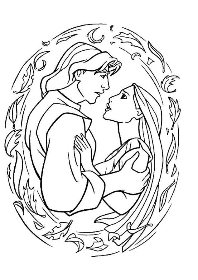 printable doodlebop coloring pages | Disegni da colorare: Disegni da colorare: Pocahontas ...