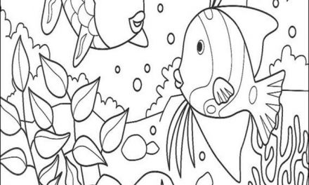 Ausmalbilder: Rainbow Fish