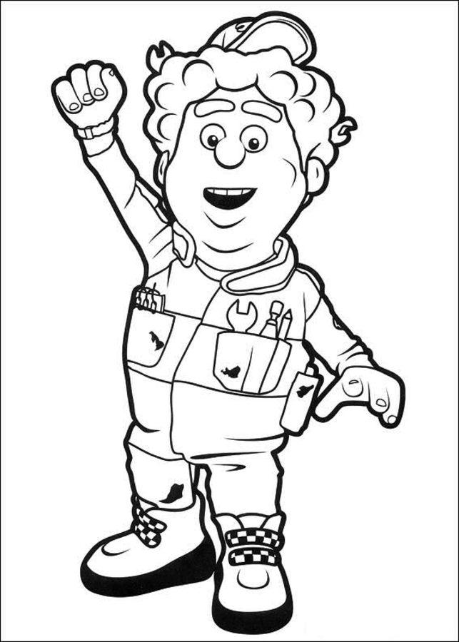 Kolorowanki Rajdek Mała Wyścig 243 Wka Do Druku Dla Dzieci