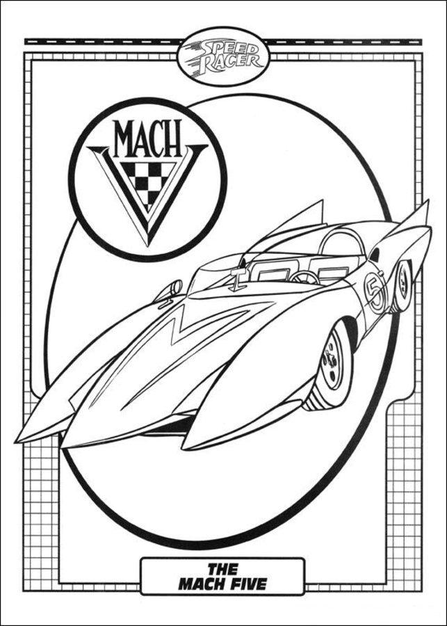 Atemberaubend Speed Racer Malvorlagen Fotos - Framing Malvorlagen ...