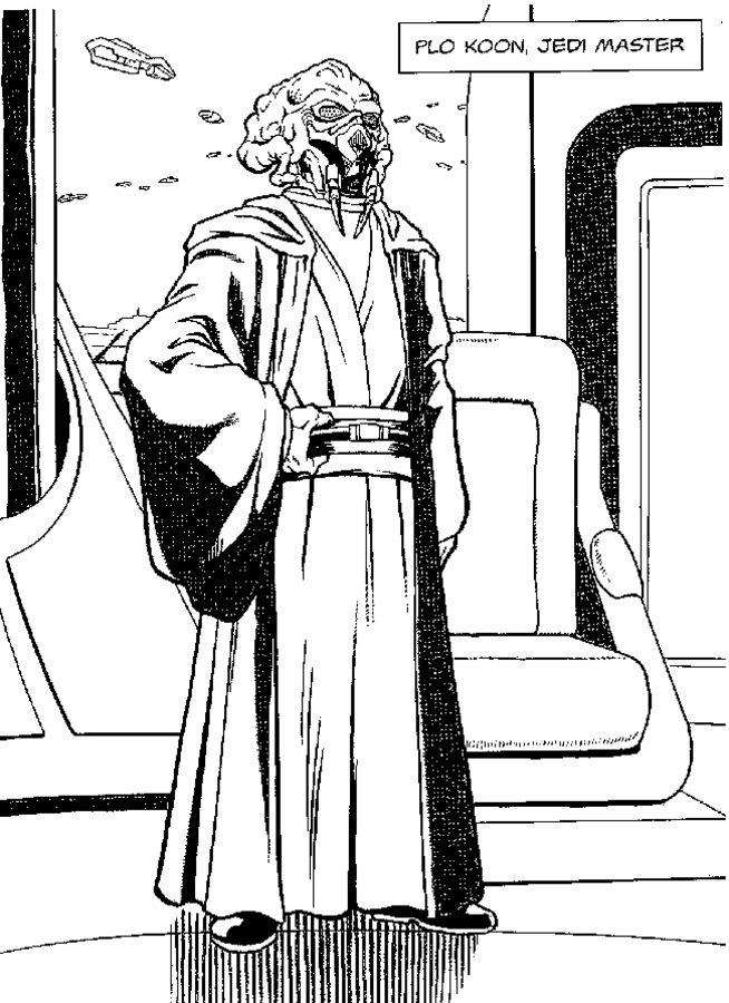 Ausmalbilder Star Wars Angriff Der Klonkrieger Zum