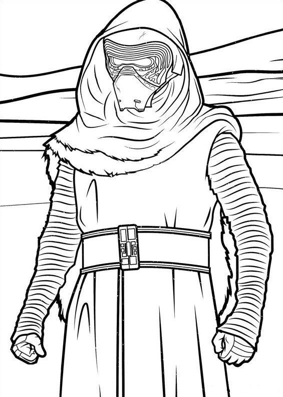 Dibujos para colorear: Star Wars: El Despertar de la Fuerza ...