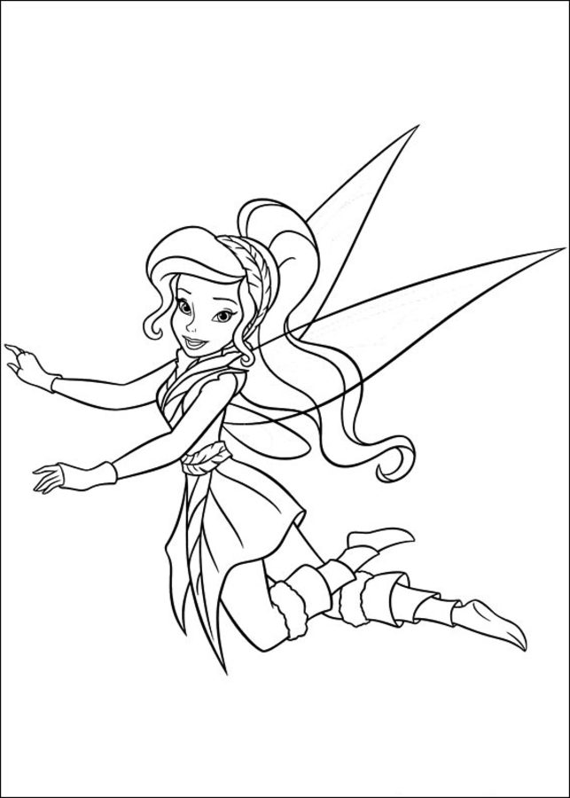 Dibujos para colorear: Tinker Bell: Secret of the Wings imprimible ...