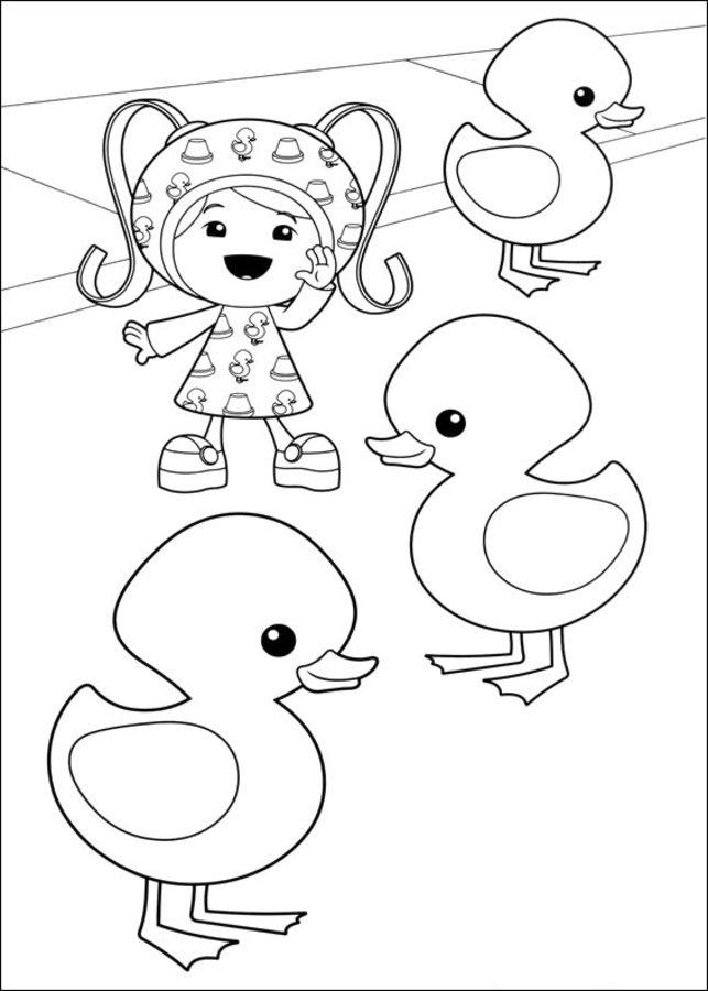 Disegni da colorare umizoomi stampabile gratuito per for Disegni da colorare per adulti e ragazzi